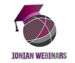 Καλώς ήλθατε στο IonianWebinars-Τμήμα Αρχειονομίας & Βιβλιοθηκονομίας-Ιόνιο Πανεπιστήμιο Logo